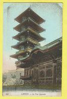 * Laken - Laeken (Brussel - Bruxelles) * (nr 444) La Tour Japonaise, Tower Of Japan, Toren, Couleur, Rare, Unique, Old - Laeken