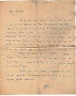 VP13.080 - Brésil - S. PAULO  - Lettre De Mr ?? Pour Mr Le Général GAMELIN - Manuscripts