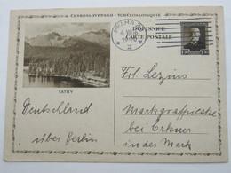 1936 , Bildganzsache Nach Deutschland Verschickt - Postal Stationery