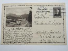 1930 , Bildganzsache Nach Deutschland Verschickt - Postal Stationery