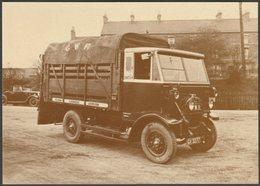 Great Western Railway Cattle Truck Of 1932 - British Rail Postcard - Trucks, Vans &  Lorries