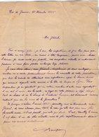 VP13.081 - Brésil - RIO DE JANEIRO 1925  - Lettre De Mr ?? Pour Mr Le Général GAMELIN - Manuscripts