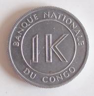 Coins 1 Likuta Congo 1967 - Congo (Rép. Démocratique, 1964-70)