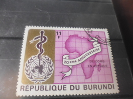 BURUNDI REFERENCE N°472 - Burundi