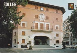 Spanien - Mallorca - Sóller - Municipal Building - Hotel De Ville - Car - Mallorca