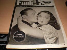 Funk Und Film Nr 15 1948 Charles Boyer Und Ann Blyth - Magazines