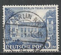 Berlin 1949. Scott #9N60 (U) Tegel Castle * - Used Stamps