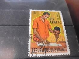 BURUNDI REFERENCE N°486 - Burundi