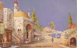 """James Creig. Near Algiers..Tunis"" Tuck Oilette Charms Of The East Ser PC # 3613 - Tuck, Raphael"