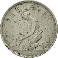 Monnaie, Belgique, Franc, 1929, TB, Nickel, KM:90 - 1909-1934: Albert I