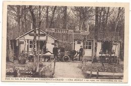 """Dans Les Bois De La FERTE Par VARENNES-le-GRAND """" CHEZ MIMILE """" + SCIEUR DE BOIS . CARTE NON ECRITE - France"""