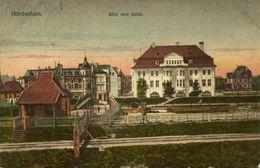 NORDENHAM, Blick Vom Deich (1910s) AK - Nordenham