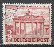 Berlin 1949. Scott #9N59 (U) Brandenburg Gate * - Used Stamps