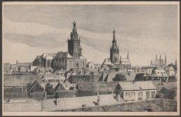 Nijmegen Als Kerkenstad, Gelderland, C.1930 - Briefkaart - Nijmegen