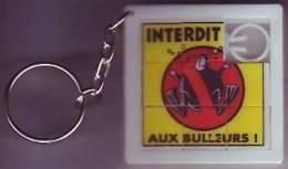 Taquin - Pousse Pousse - Porte Clés Oasis - Interdit Aux Bulleurs - Brain Teasers, Brain Games