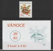 MiNr.164 Tschechische Republik: 1997, 12. Nov. Weihnachten. - Tschechische Republik