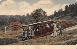 ¤¤   -   SUISSE   -   ZOUG   -  ZUG  -  Zuger-Bergbahn  -   ¤¤ - ZG Zug