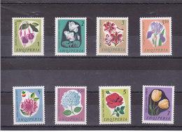 ALBANIE 1965 FLEURS Yvert 778-785  NEUF** MNH - Albanie