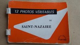 44  SAINT  NAZAIRE   PETIT  CARNET  DE   12  PHOTOS - Saint Nazaire