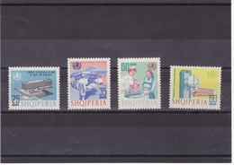ALBANIE 1966 OMS Yvert 887-890 NEUF** MNH - Albanie