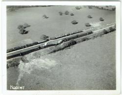 Foto/Photo. Nogent. Vue Aérienne D'un Train Bombardé! Militaria. - Lieux