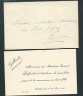 Chatellerault Le 26/03/1906 , Faire Part De La Naissance De Gilberte Delpech   Ax14502 - Nacimiento & Bautizo