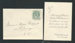 Chatellerault (86 )   - Faire Part De La Naissance  De René Chotard Le 15/05/1907  Ax14509 - Nacimiento & Bautizo