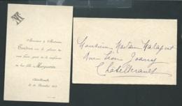 Chatellerault (86 )faire Part  Naissance De Marguerite Tendron Le 24/12/1905  Ax14512 - Nacimiento & Bautizo