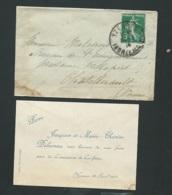 Yzeures  (37 )faire Part  Naissance De  Pierre Delaveau Le 26/04/1914  Ax14513 - Nacimiento & Bautizo