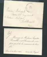 Paris  Faire Part  Naissance De  Paul Rouillé Le 29/06/1902 Ax14518 - Nacimiento & Bautizo