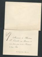 Saint Nazaire (44)   Faire Part  Naissance De Louis Lemesle  Le 6 /05/1894 Ax14520 - Nacimiento & Bautizo