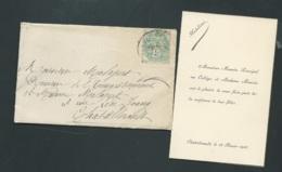 Chatellerault (86 )    Faire Part  Naissance De  Madeleine Maurin Le 18/02/1906 Ax14521 - Nacimiento & Bautizo
