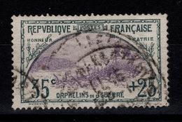 1ere Orphelins - YV 152 Oblitere Parfaitement Bien Centré Cote 160 Euros + Centrage - France
