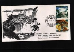 Brazil 1978 Environment Protection FDC - Umweltschutz Und Klima