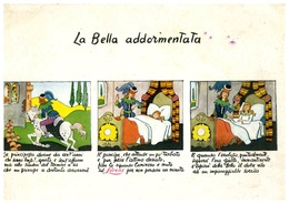 PUBBLICITA' PUBBLICITARIE FIABA FIABE LA BELLA ADDORMENTATA - Fiabe, Racconti Popolari & Leggende