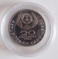20 Escudos Republica De Cabo Verde 1982 Domingos Ramos - Cape Verde