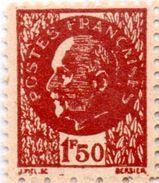 """2e GUERRE- Faux """"Pétain"""" 1,50F Brun-noir - Guerre Mondiale (Seconde)"""