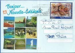 NOUVELLE-CALEDONIE : Enveloppe Y&T N°881 - Briefe U. Dokumente