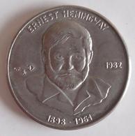 1 Peso Republica De Cuba 1982 Ernest Hemingway - Cuba