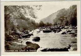 """AYWAILLE - L'Amblève Aux """"Fonds De Quareux"""" (Quarreux) - Oblitération De 1938 - N° 8. Photo """"LUMA"""" , Tél. 70 - Aywaille"""