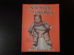 """Revue """" Sciences Et Voyages """" N° 394, 1927, """" La Chaise De Bronze Des Enfants Chinois """" - 1900 - 1949"""