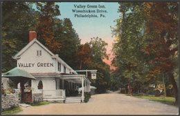 Valley Green Inn, Philadelphia, Pennsylvania, C.1909 - Post Card Distributing Co Postcard - Philadelphia