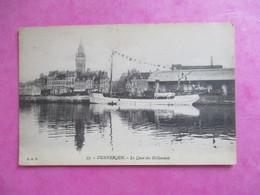 CPA 59 DUNKERQUE LE QUAI DES HOLLANDAIS - Dunkerque