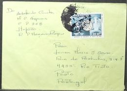 Mozambique - Cover To Portugal Tuberculosis Koch 1982 - Médecine