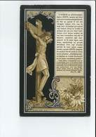 CHARLOTTE KEMERLINCKX ECHTG JOSSE WAUTERS ° MISKOM ( KORTENAKEN ) 1856 + 1905 - Images Religieuses