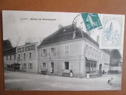 Cluny . Hotel De Bourgogne . Presence D Une Vignette Sous Le Timbre - Cluny