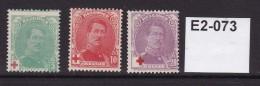 Belgium 1914 Red Cross Fund. Unused With No Gum - 1914-1915 Croix-Rouge