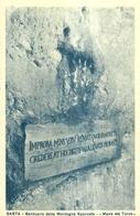 "1439 "" GAETA - SANTUARIO DELLA MONTAGNA SPACCATA - MANO DEL TURCO"" CART. POST. ORIG. NON SPEDITA - Italy"