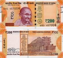 INDIA       200 Rupees       P-113       2018       UNC  [ Sign. Patel - No Letter ] - India