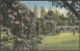 Empress Hotel Gardens, Victoria, British Columbia, C.1910 - Coast Publishing Co Postcard - Victoria